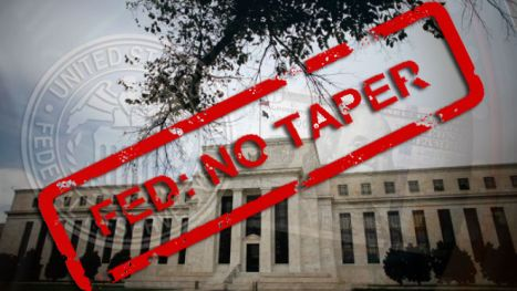 Fed no tapering
